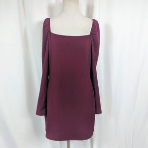 Charlotte Russe Purple Long sleeve dress